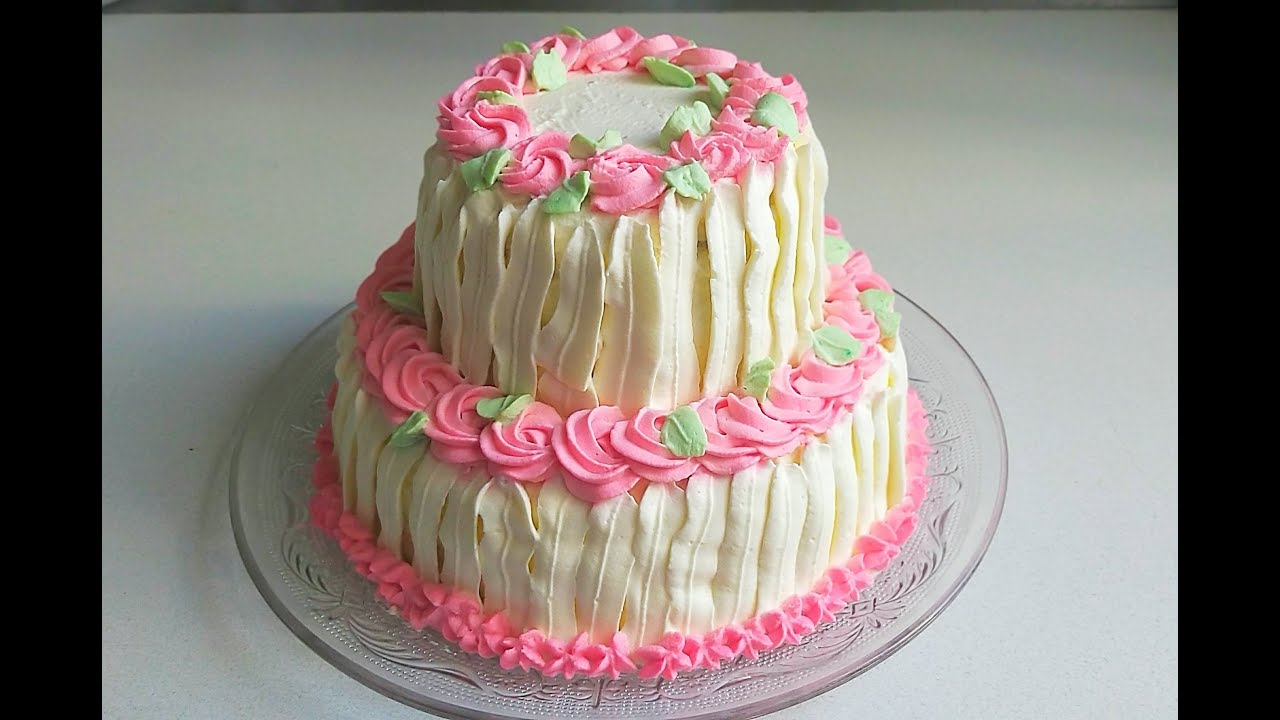 2 Tier Cake Recipe Two Tier Birthday Cake Two Tier Vanilla Chocolate Cake Youtube