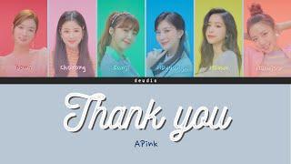 Apink 에이핑크 - 고마워 (Thank you) - [Color Coded Lyrics 가사 Han/Ro…