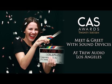Meet and Greet with Sound Devices at Trew Audio | CAS Week