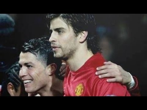 Thumbnail: Cristiano Ronaldo and Gerard Pique before they were rivals