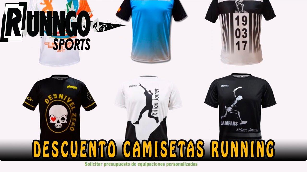 salida de fábrica gama muy codiciada de mayor descuento Runngo Sports | Descuento camisetas personalizadas para correr |Running