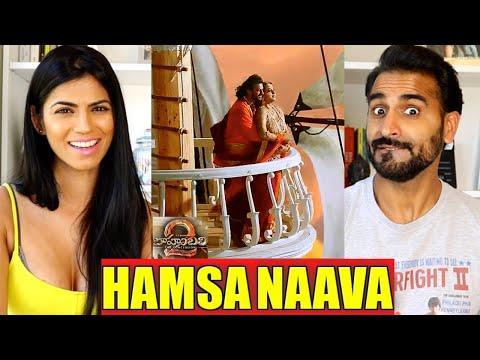 HAMSA NAAVA | Baahubali 2 | Prabhas | Anushka | BAHUBALI Telugu song REACTION!!