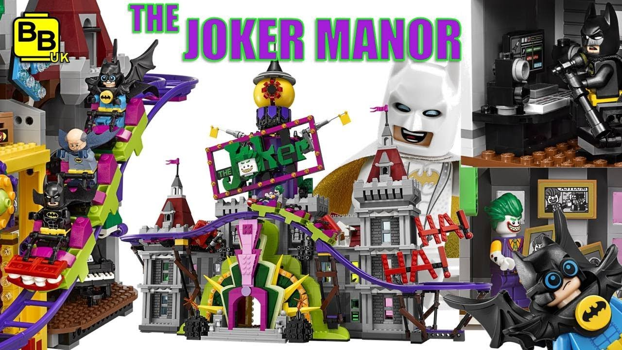 85cccc945410 LEGO BATMAN MOVIE THE JOKER MANOR 70922 REVEALED   ANALYSED! - YouTube