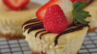 Individual Cheesecakes Recipe Demonstration - Joyofbaking.com