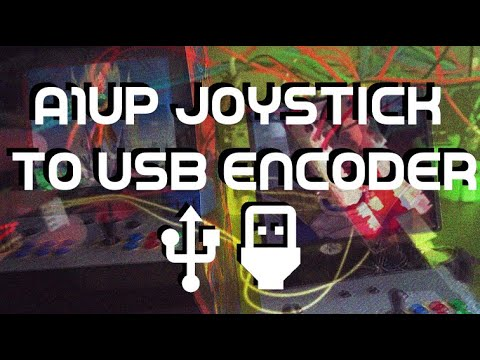 Arcade1Up:  Using the Joystick as a USB Gamepad via $10 Set of USB Encoders! from The Code Always Wins