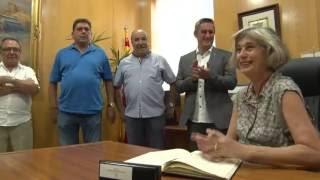 Acte de la Diada Nacional de Catalunya al Castell de Calafell