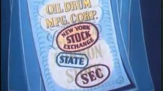 How the Stock Market Works - Cartoon Tutorial - Economics and Investing Video (1952)