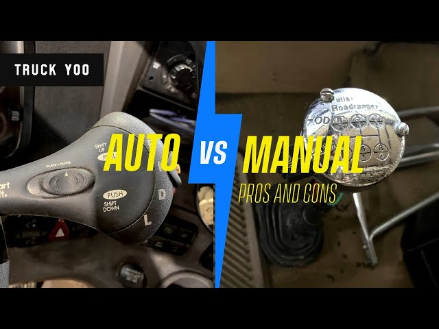 Semi truck automatic or manual transmission. pros and cons. Episode 35
