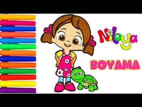 Niloya Ile Boyama Oyunu Youtube