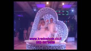 Вход в зал l Сердце l Свадьба  -  כניסה בתוך הלב ענק חתונה