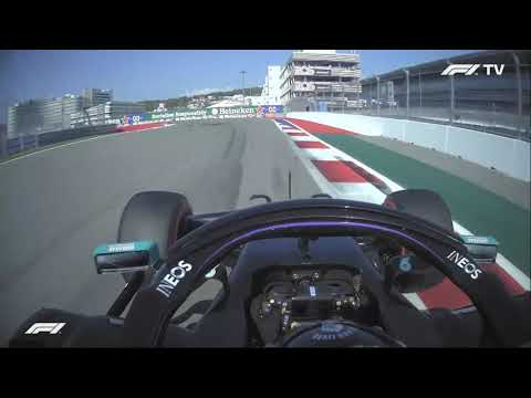 "F1 2020 Lewis Hamilton 10 Seconds Penalty Pitstop + Team Radio ""Ridicolous"" - Russian Grand Prix"