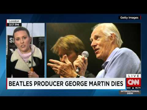 5th Beatle George Martin dead, age 90 - tributes are flowing..