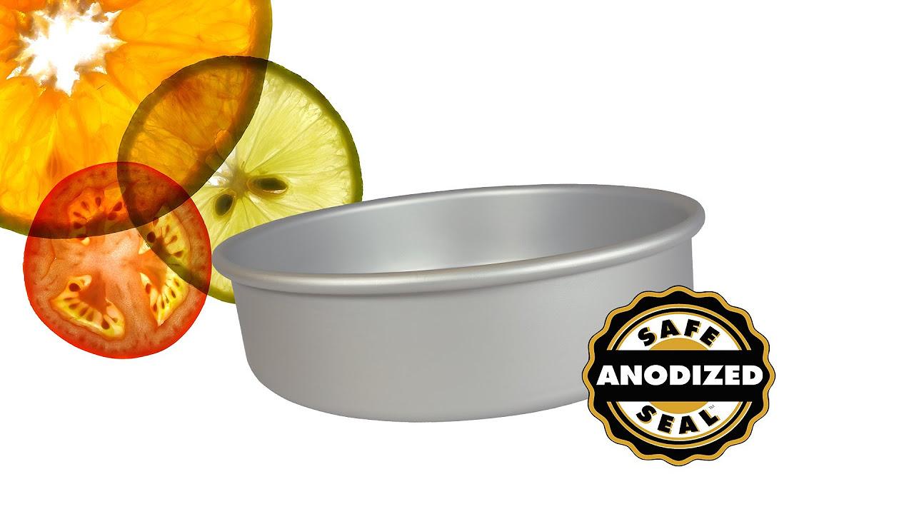 """fat daddio's round cake pan (3""""x3"""")   everything kitchens"""