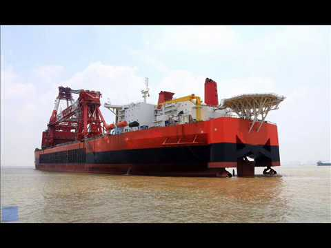 thailand floating crane brunei crane barge sell rent charter hire crane ship cambodia