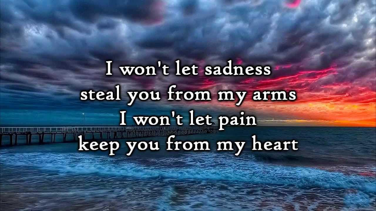 Matt Hammitt - All of Me (Lyrics)
