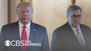 Barr fires warning shot at Trump in new interview