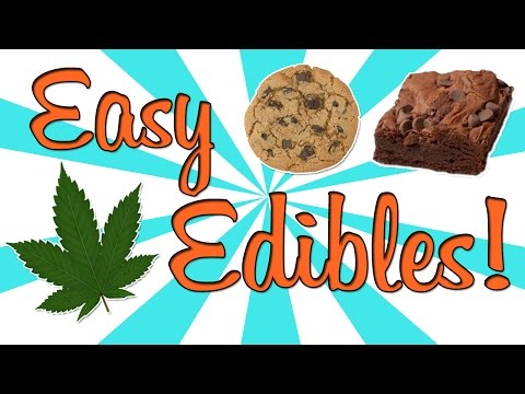 HOW TO MAKE EASY EDIBLES!!