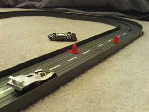 Dwank Race volume 3: Hot Wheels stop motion race, slot car style!!