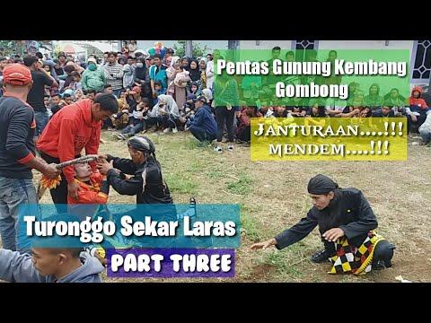   TURONGGO SEKAR LARAS   Pentas Gunung Kembang Gombong Belik Pemalang Part Three