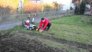 Rasenschälmaschine mieten bei Rentas, Anleitung