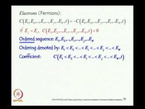 Mod-02 Lec-14 Second Quantization Creation, Destruction and Number operators