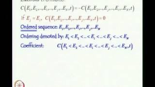 Mod-02 Lec-14 Second Quantization Creation, Destruction and Number operators