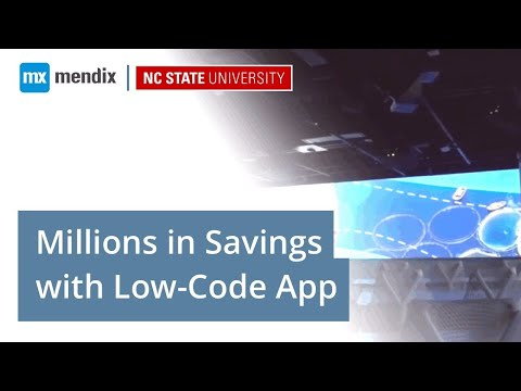 NC State Realizes Millions in Savings with Low Code App Development