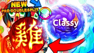 POPSPLIT & DOUBLESPLIT PARTY! Agar.io - PRE DOUBLESPLIT & SAME SIZE POP + BEST MOMENTS REACTIONS
