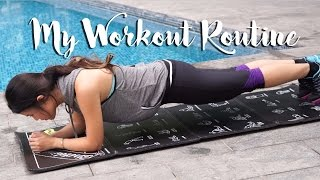 Lazy Girl's Workout Routine ♥