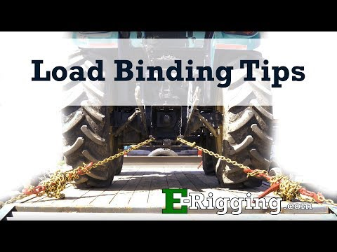 Load Binding Tips From E-Rigging.com