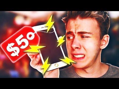 PRANKOWY iPhone ZA 5$ (5 Dziwnych Rzeczy)