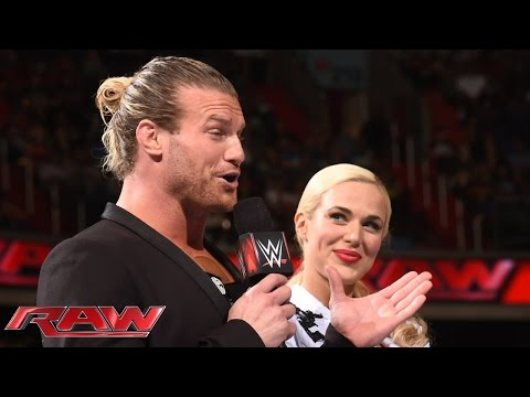 Dolph Ziggler and Lana go public: Raw, June 29, 2015