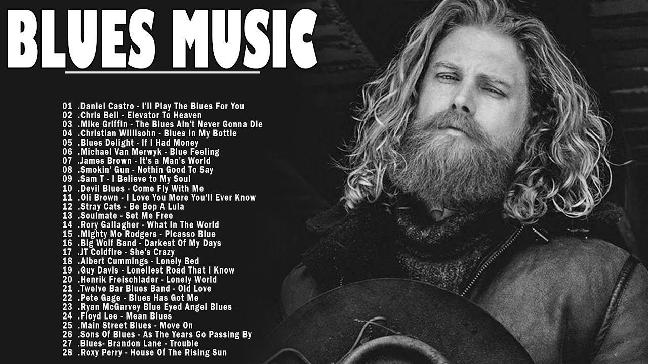 Download Slow Blues Music | Best Blues Rock Songs Of All Time | List Of Best Blues Songs | Background Music