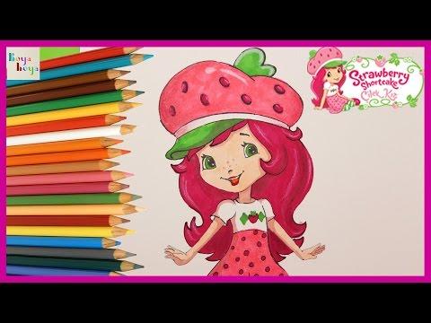 çilek Kızı Nasıl çizilir çilek Kızı Türkçe Izle çizim Teknikleri