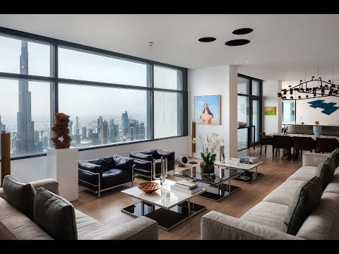Stunning Penthouse with full Burj Khalifa Views,  DIFC, Dubai | Gulf Sotheby's Realty
