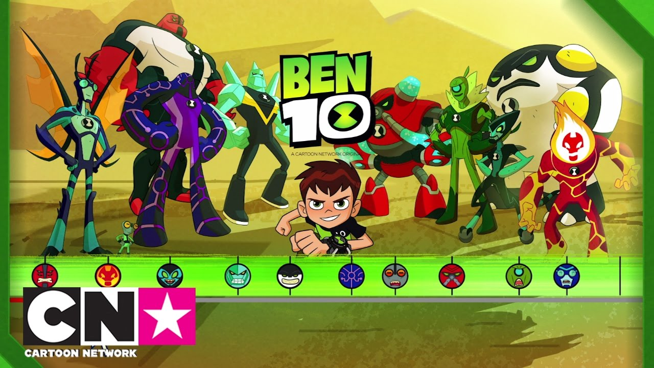 Tutorial meet the aliens ben 10 cartoon network youtube - Ben 10 tous les aliens ...