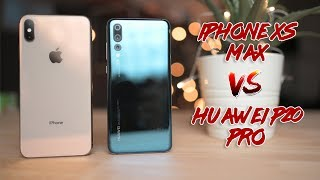 iPhone XS Max vs Huawei P20 Pro Camera Comparison!