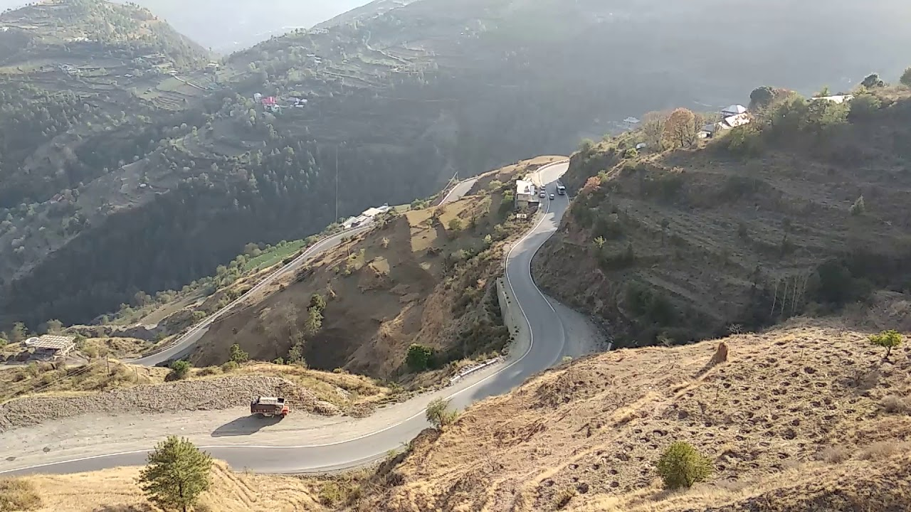 Work power energy: why Hill roads gradually wind up