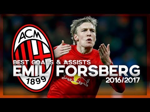 Emil Forsberg | Welcome to AC Milan? | Best Goals & Assists 2016/2017 | RB Leipzig Maestro