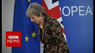 Theresa May: \'If we are to leave with a deal this is it\' - BBC News