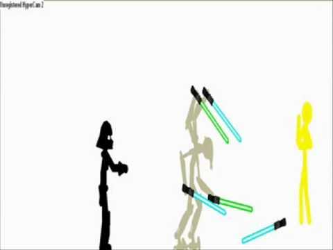 Star Wars General Grievous Vs Ultair Kenobi Pivot