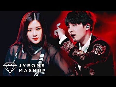 BTS & BLACKPINK - PIED PIPER X PLAYING WITH FIRE (MASHUP)