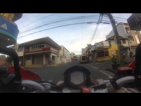 KTM Duke 200 Lucena to Lucban, Quezon.