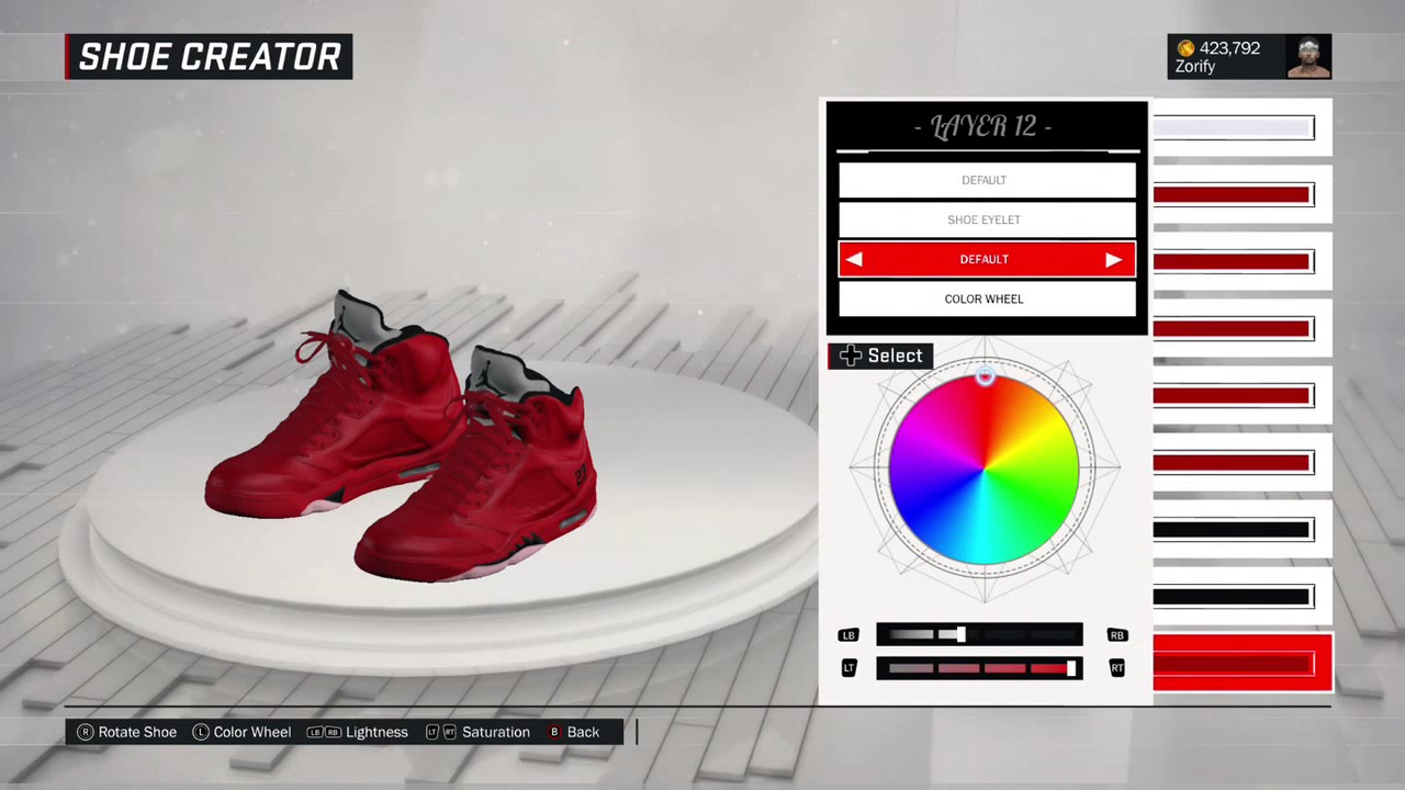 NBA 2K17 Shoe Creator - Air Jordan 5