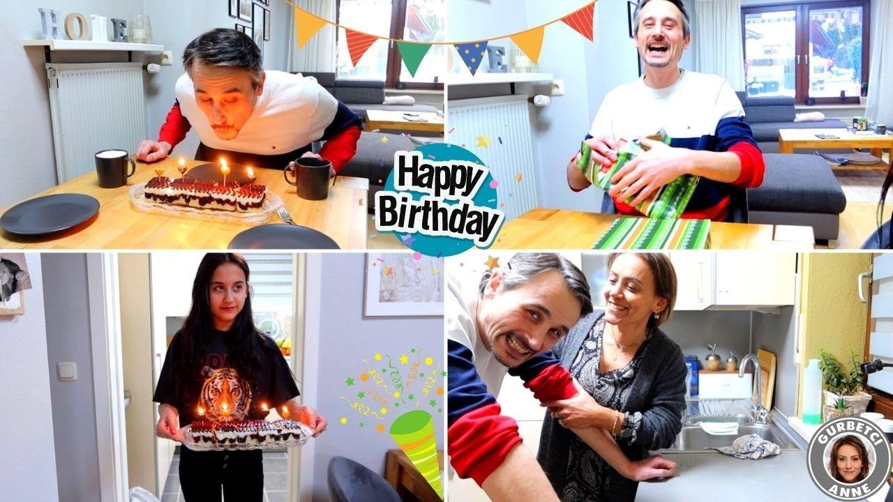 Papa Robert feiert seinen GEBURTSTAG 🎁 Mini Party im LOCKDOWN | Family Fun