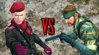 Metal Gear Solid CQC Techniques | Snake VS Ocelot
