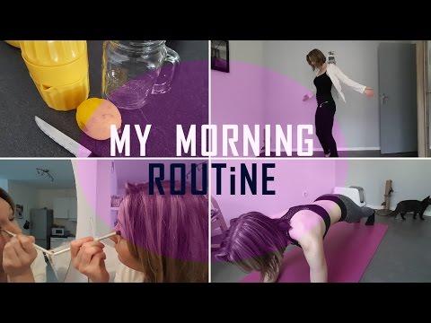 MY M0RNING R0UTINE ! Beauté / Sport / alimentation