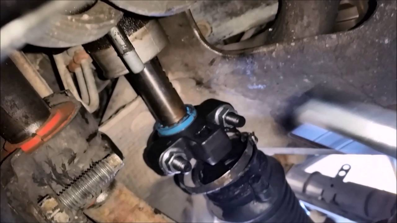 2001 To 2004 Inner Tie Rod Change Drivers Side Part 1