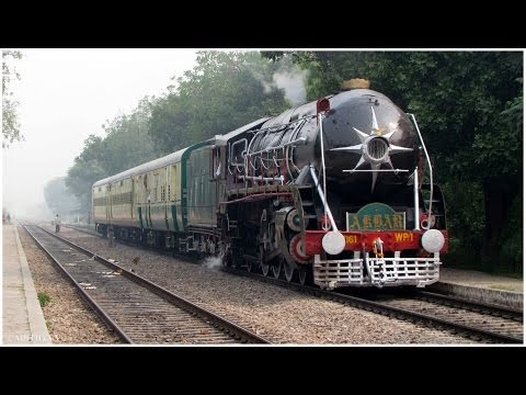 48. HERITAGE STEAM RUN MOST POWERFUL LOCO WP/1 AKBAR