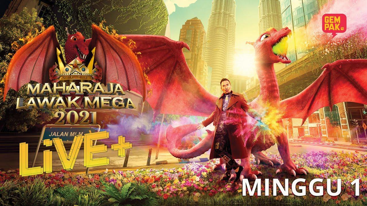 Download [LIVE] Maharaja Lawak Mega 2021 Live + | Minggu 1